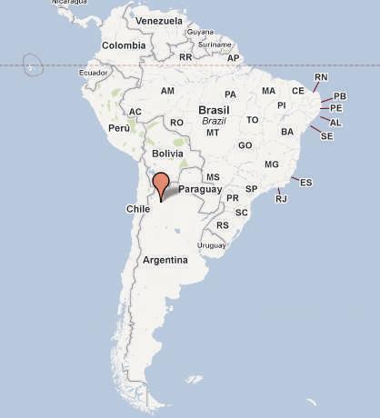 Argentina – provincie Buenos Aires +Santiago del Estero