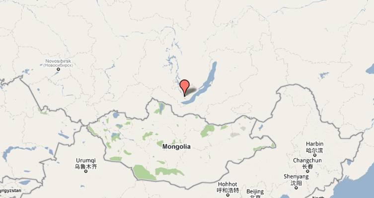Rusko – Oblast Irkutska